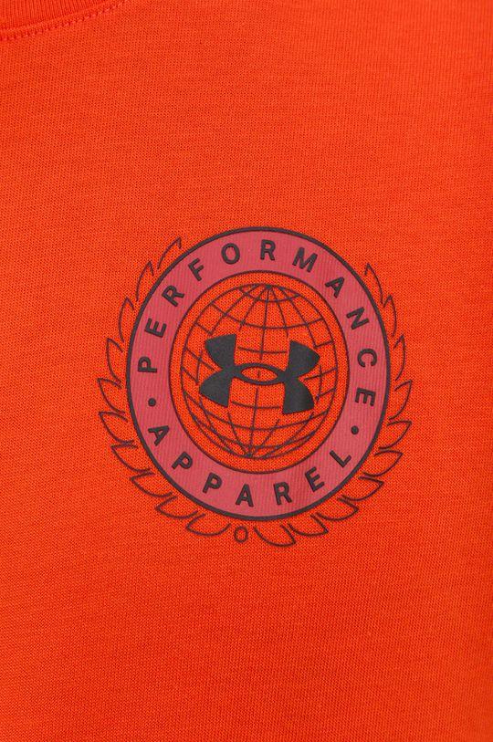 oranžová Under Armour - Tričko