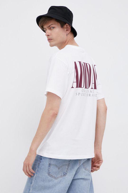 adidas Originals - Bavlněné tričko bílá