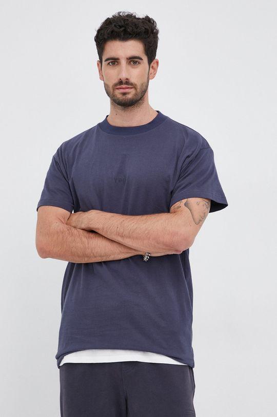 granatowy Young Poets Society - T-shirt bawełniany Daylen Logo Męski