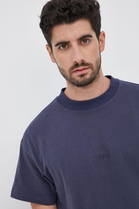 granatowy Young Poets Society - T-shirt bawełniany Daylen Logo