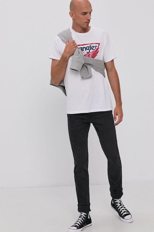 Wrangler - T-shirt biały