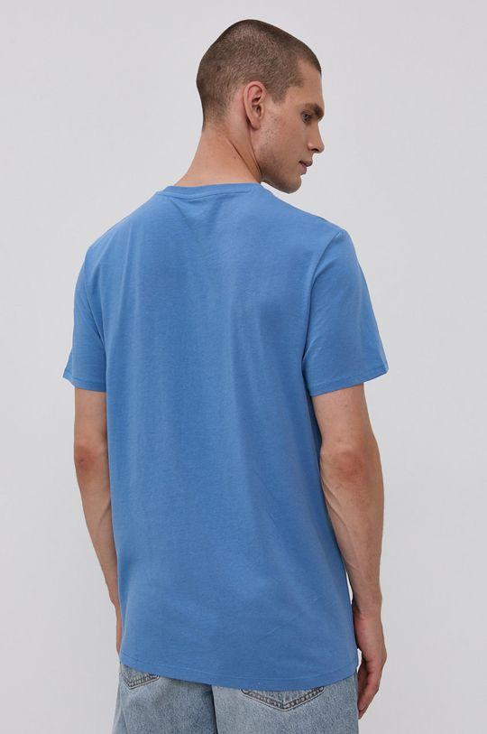 Wrangler - Bavlněné tričko modrá