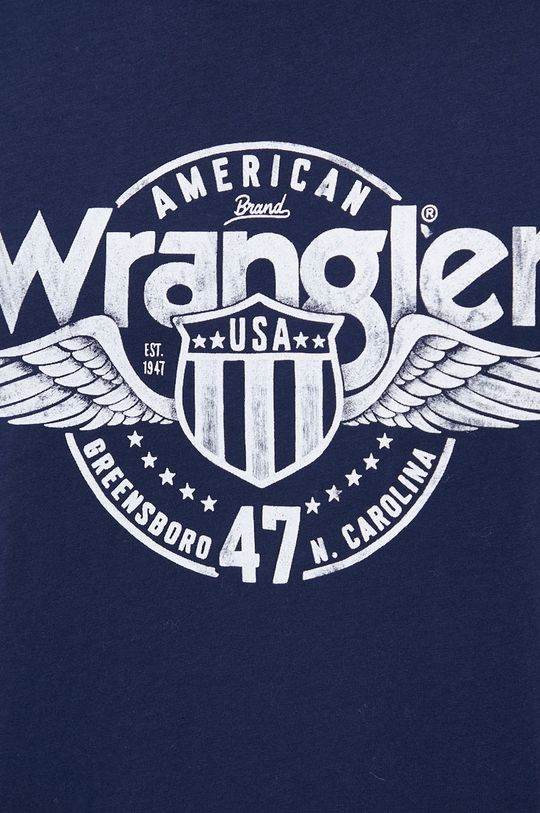 Wrangler - Longsleeve bawełniany Męski