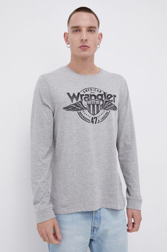 Wrangler - Longsleeve szary