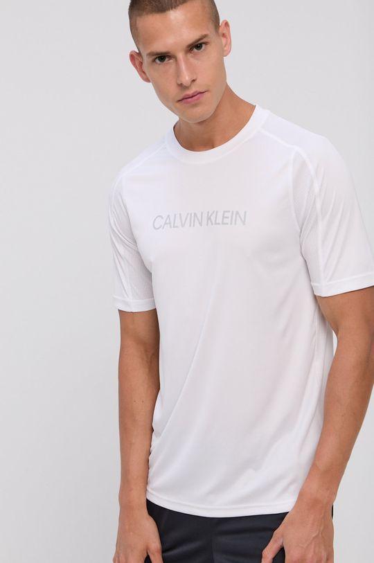 biela Calvin Klein Performance - Tričko