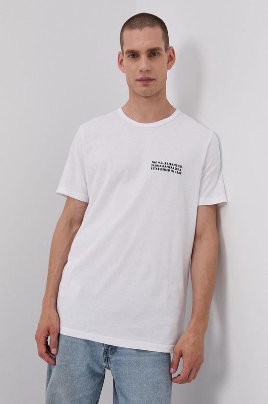 biela Lee - Bavlnené tričko Pánsky