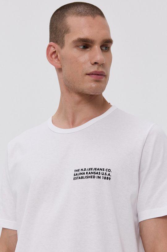 biela Lee - Bavlnené tričko