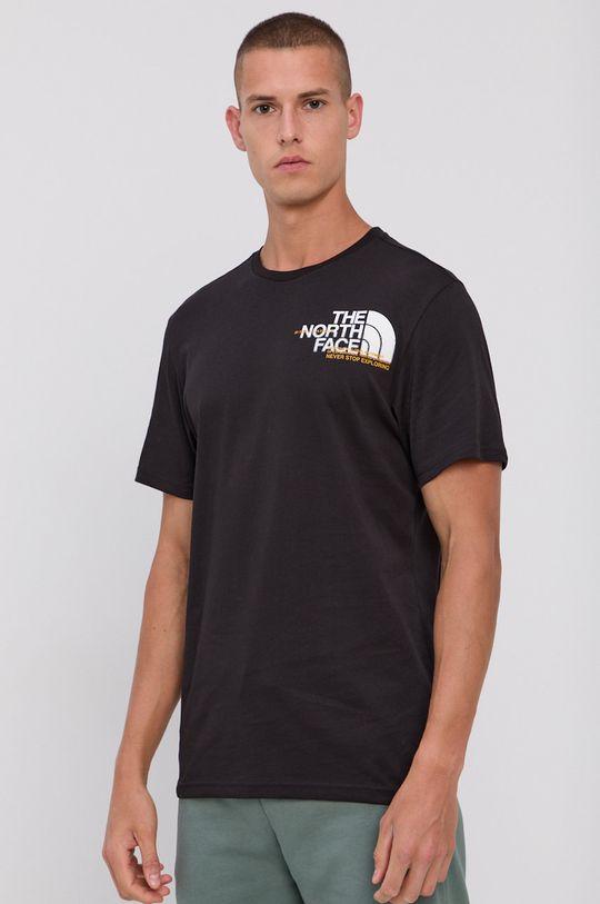 negru The North Face - Tricou din bumbac