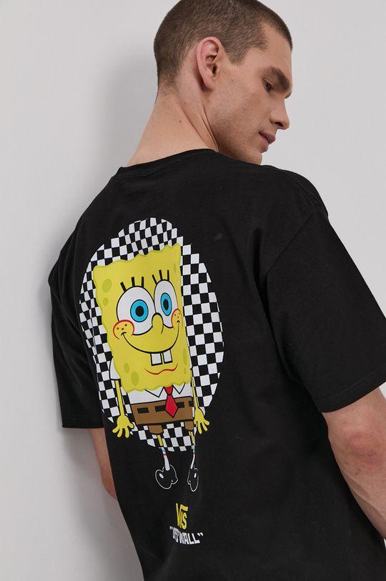 czarny Vans - T-shirt x Spongebob Męski