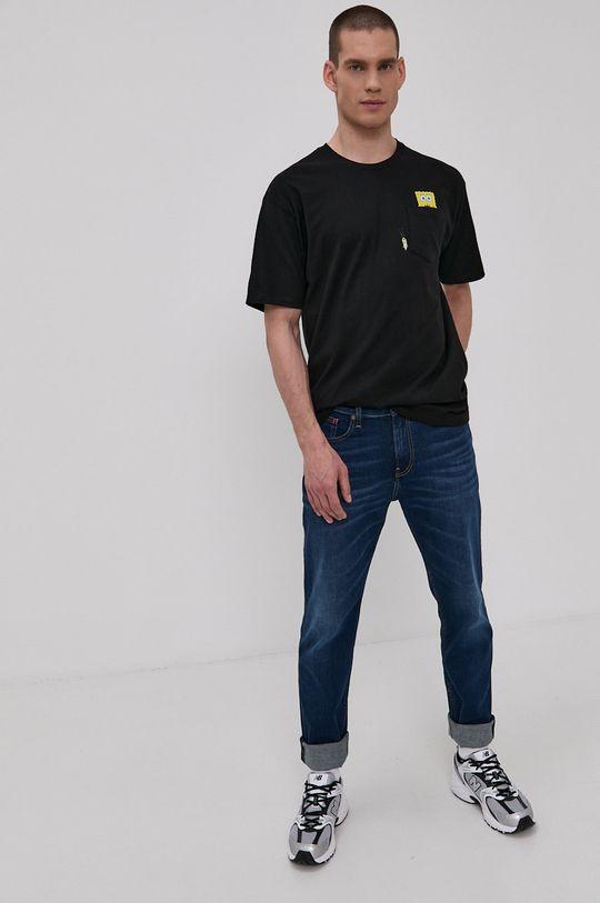 Vans - T-shirt x Spongebob czarny