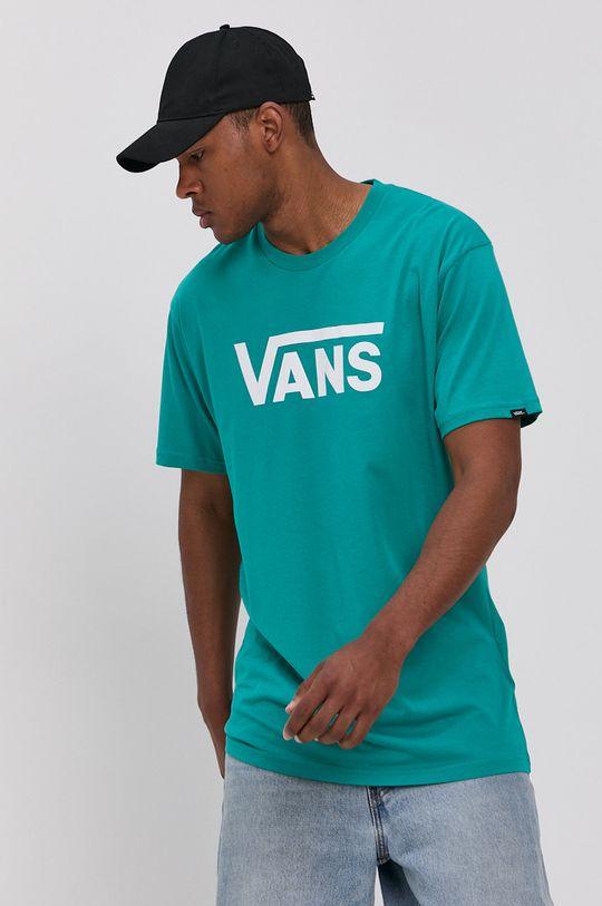 zelená Vans - Tričko Pánský