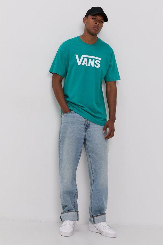 Vans - Tričko zelená