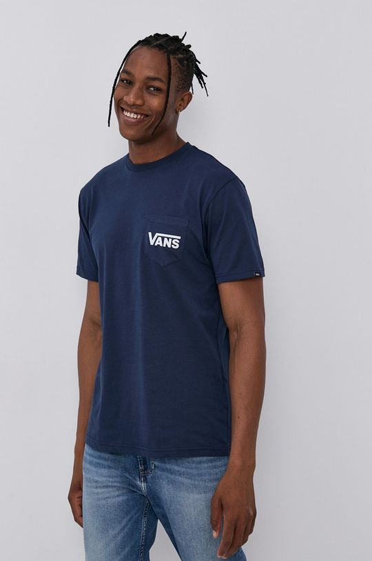 námořnická modř Vans - Tričko Pánský