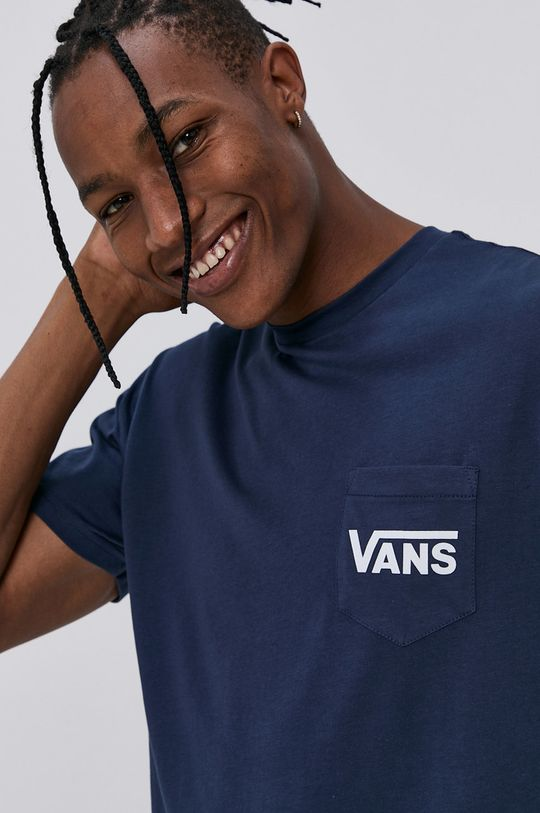 námořnická modř Vans - Tričko