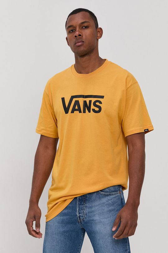 žltá Vans - Tričko Pánsky