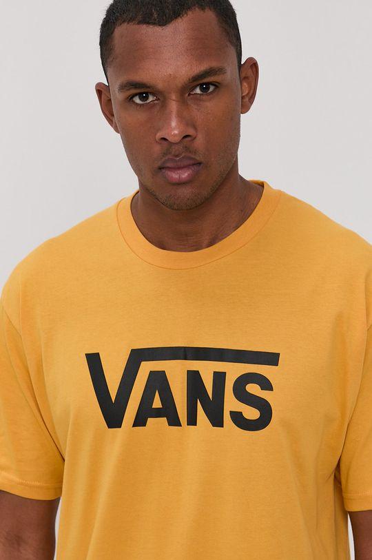 žltá Vans - Tričko