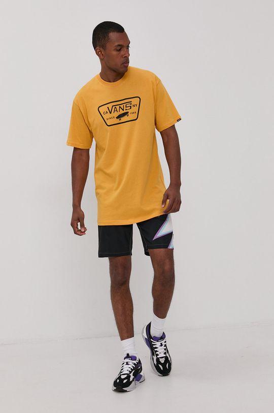 Vans - T-shirt ciepły oliwkowy