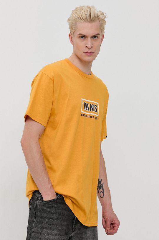 masliniu cald Vans - Tricou din bumbac De bărbați