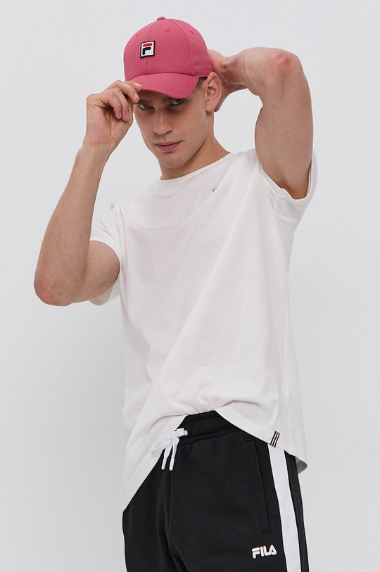 bílá Fila - Bavlněné tričko