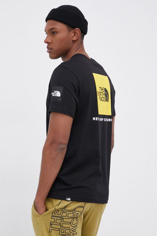 czarny The North Face - T-shirt bawełniany Męski