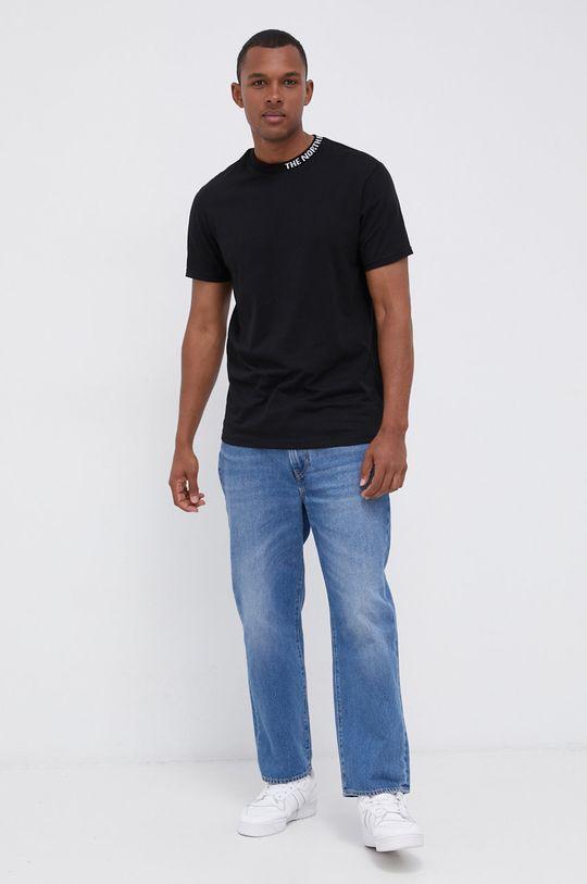 The North Face - T-shirt bawełniany czarny