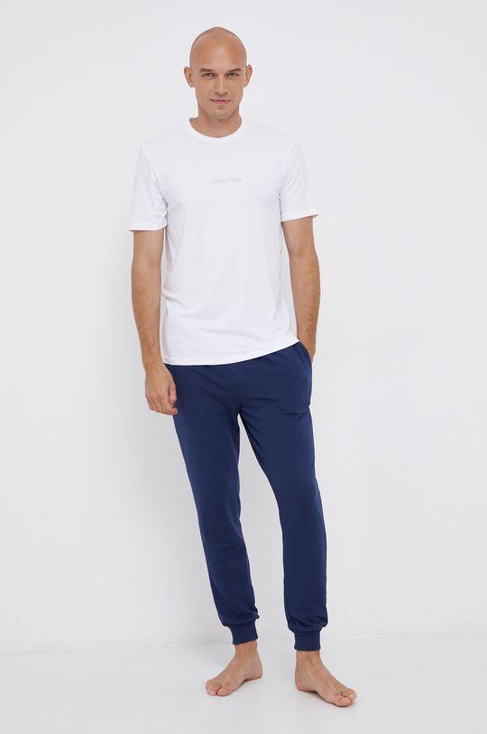 bílá Calvin Klein Underwear - Pyžamové tričko Pánský