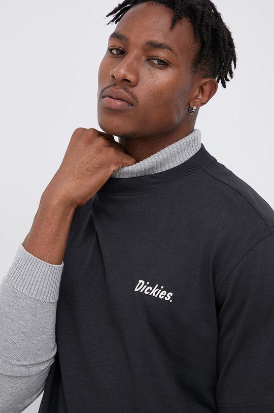 czarny Dickies - T-shirt bawełniany