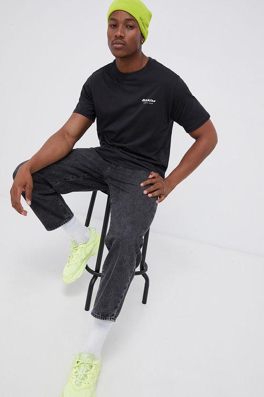 Dickies - T-shirt bawełniany czarny
