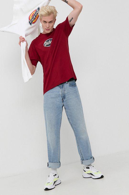 Dickies - Tricou din bumbac castan