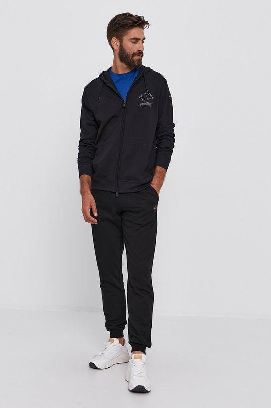 PAUL&SHARK - Bavlněné tričko ocelová modrá