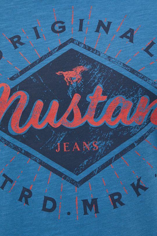 modrá Mustang - Bavlněné tričko