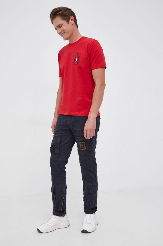 Aeronautica Militare - T-shirt czerwony