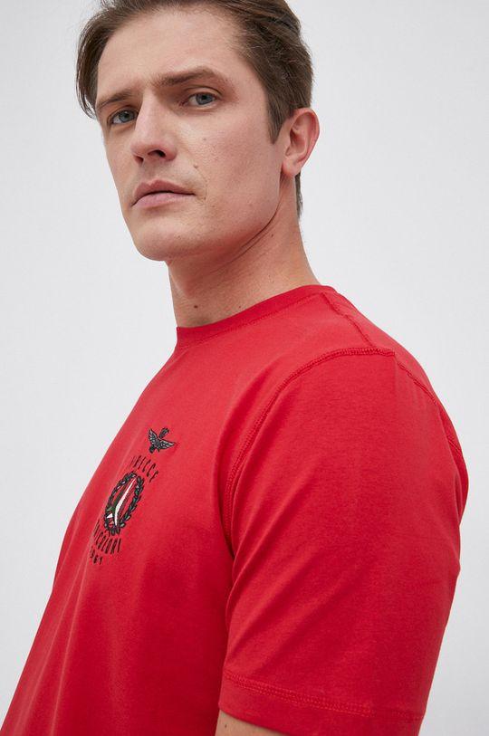czerwony Aeronautica Militare - T-shirt