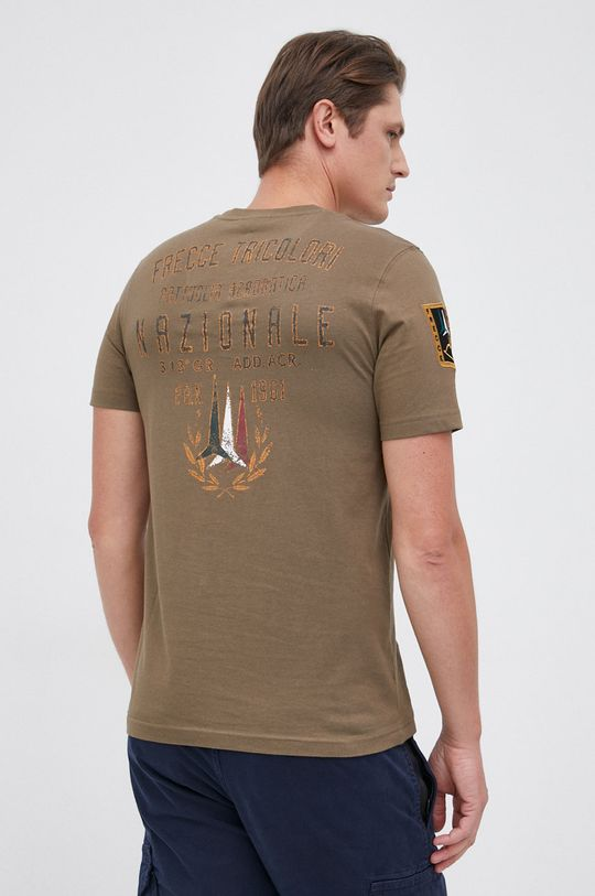 Aeronautica Militare - T-shirt bawełniany militarny