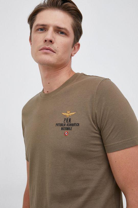 militarny Aeronautica Militare - T-shirt bawełniany