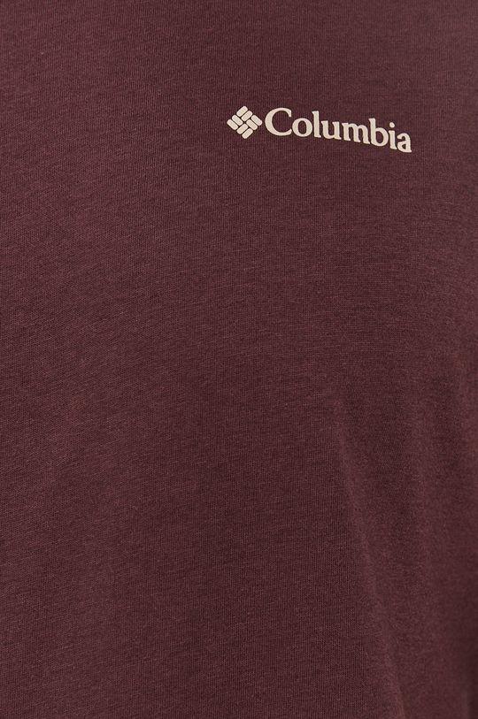 kasztanowy Columbia - T-shirt