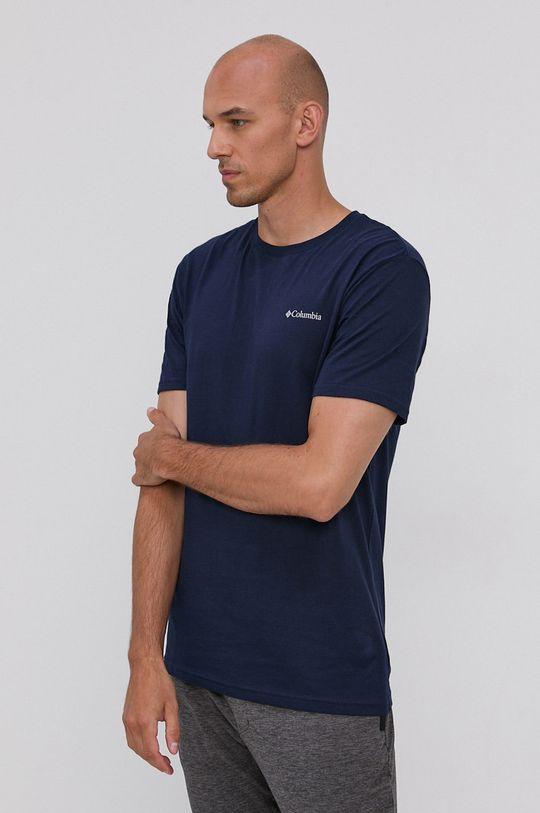 granatowy Columbia - T-shirt bawełniany Męski