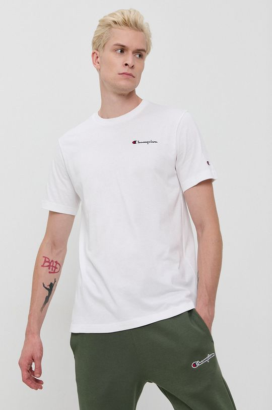 alb Champion - Tricou din bumbac De bărbați