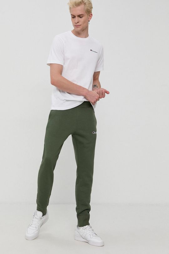 Champion - Tricou din bumbac alb