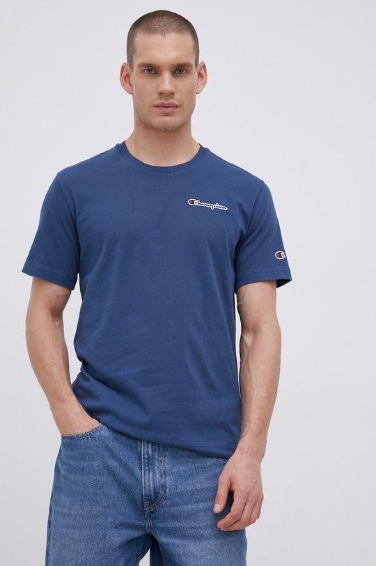 albastru Champion - Tricou din bumbac