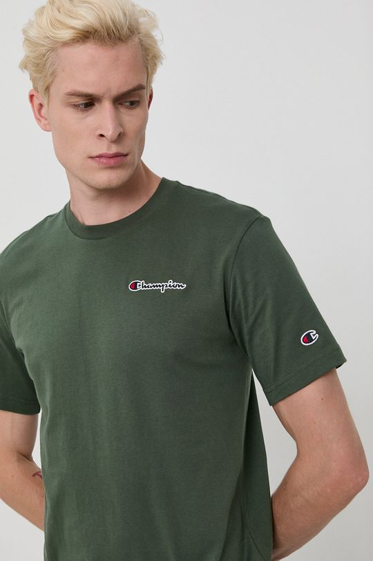 verde maro Champion - Tricou din bumbac