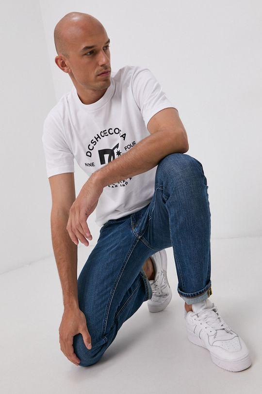 biela Dc - Bavlnené tričko Pánsky