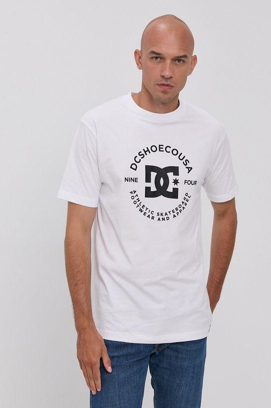 Dc - Bavlnené tričko biela