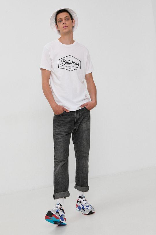 Billabong - Bavlnené tričko biela