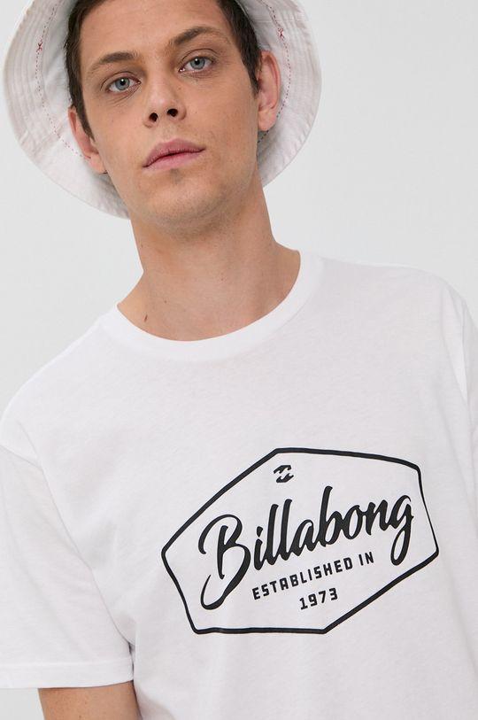 biela Billabong - Bavlnené tričko