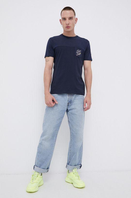 Quiksilver - T-shirt granatowy