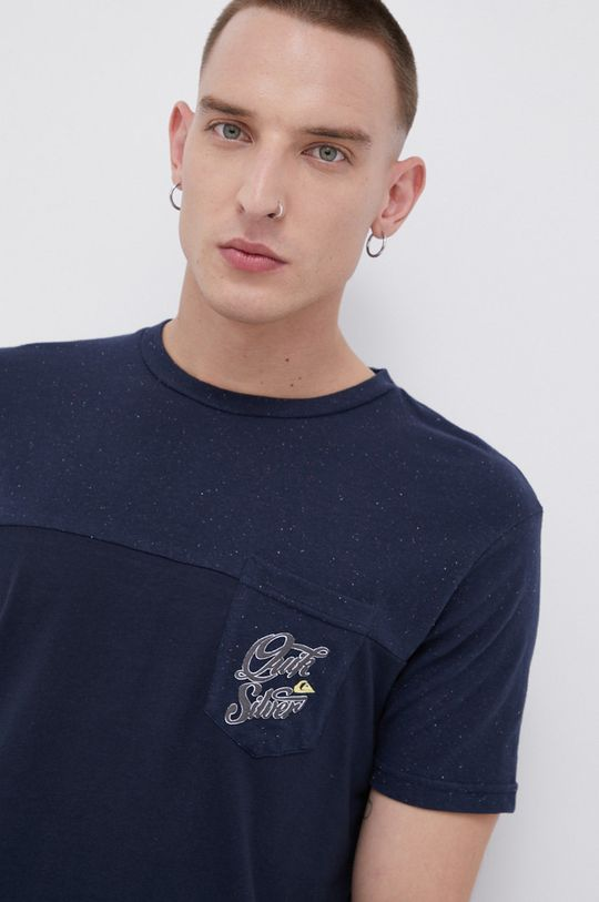 granatowy Quiksilver - T-shirt