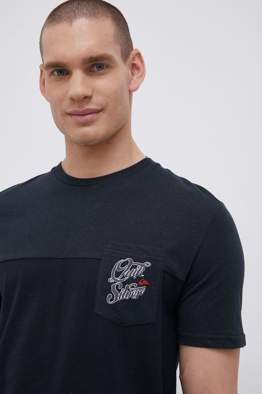 czarny Quiksilver - T-shirt