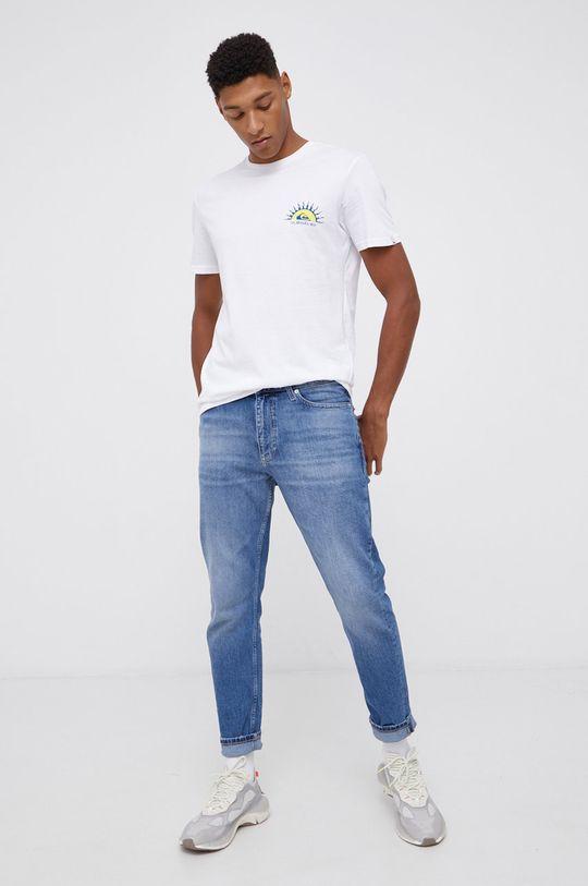 Quiksilver - T-shirt bawełniany 100 % Bawełna