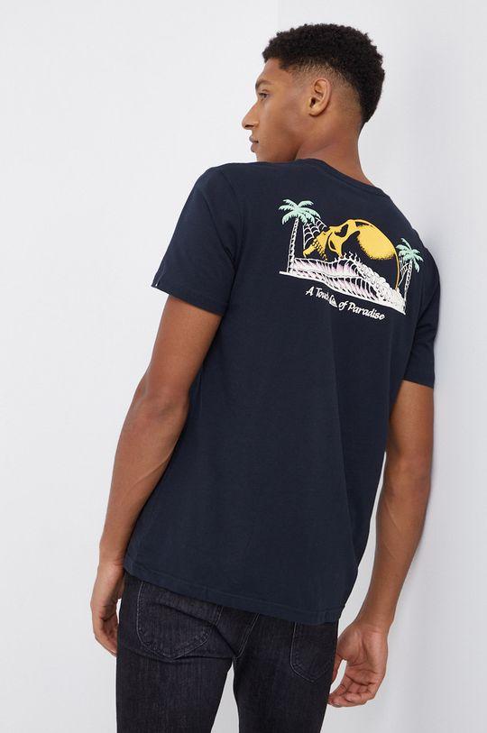 czarny Quiksilver - T-shirt bawełniany Męski